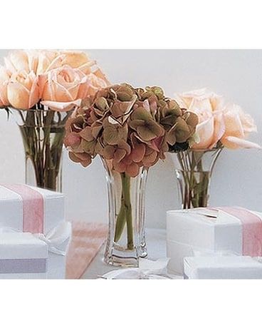 Sweet Visions Crystal Vase Trio In Gahanna Oh Rees Flowers Gifts