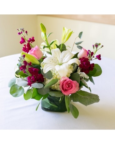 Low and Lush Designers Choice Flower Arrangement