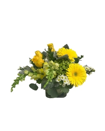 Sunshine and Smile Flower Arrangement