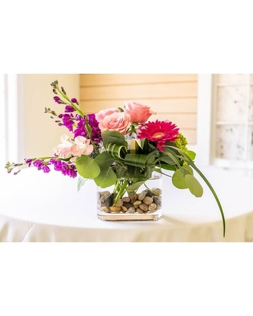 Color Burst Flower Arrangement