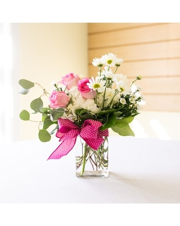 Pretty Polka Dots Flower Arrangement