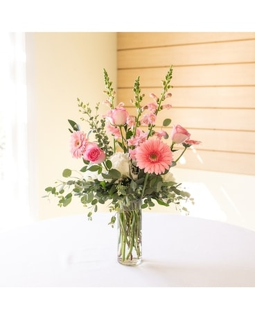 Pink Delight Flower Arrangement