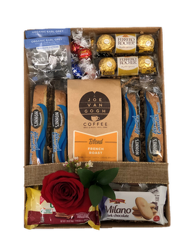 The Coffee Lover Gift Basket