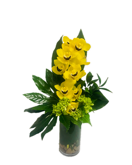 Zen Orchid Flower Arrangement