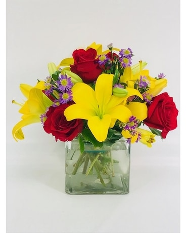 To Brighten Your Day Flower Arrangement