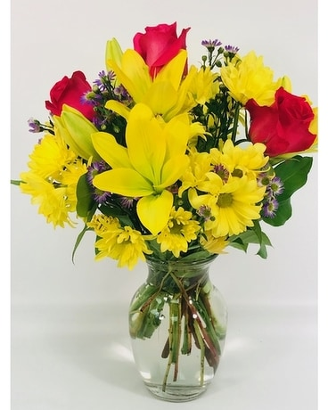 Radiant Beauty Flower Arrangement