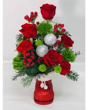 A Christmas Specialty Flower Arrangement