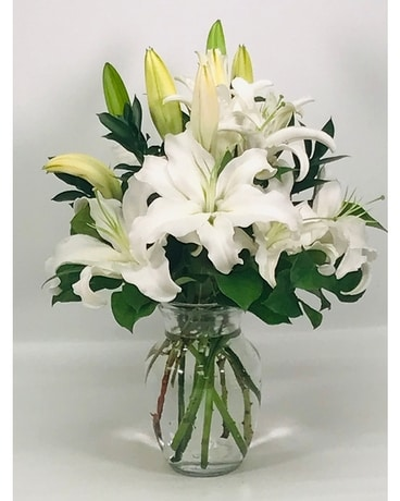 Beautiful White Lilies In Atlanta Ga Peachtree Flowers