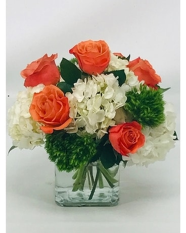 Simple and Sweet Flower Arrangement