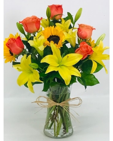Sunset Bouquet Flower Arrangement