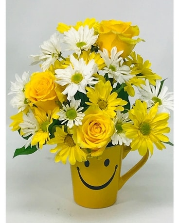 To Make You Smile Flower Arrangement