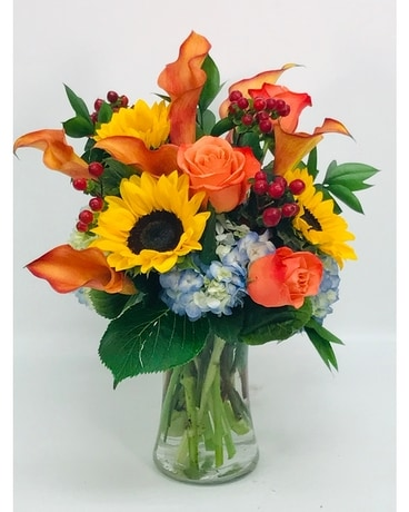 Orange Crush Flower Arrangement