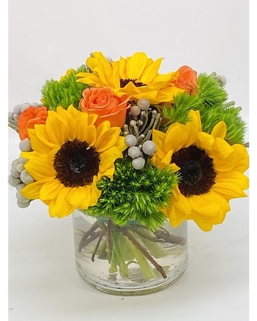 Sweet Sunflowers Flower Arrangement