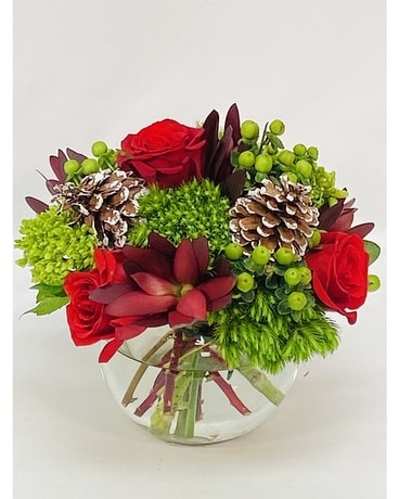 Merry & Bright Bouquet Flower Arrangement