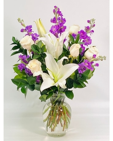 Tranquil Love Bouquet Flower Arrangement