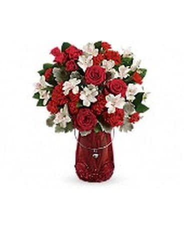 TELEFLORAS RED HAUTE BOUQUET Flower Arrangement