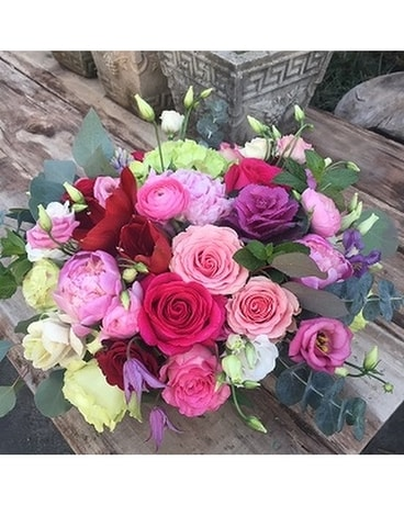 Pampered Pinks Flower Arrangement