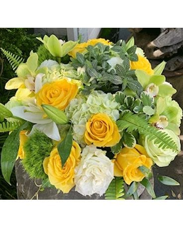 The Golden Years Flower Arrangement