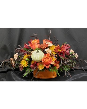 Giving Thanks Bouquet by M & W Flower Shop Flower Arrangement