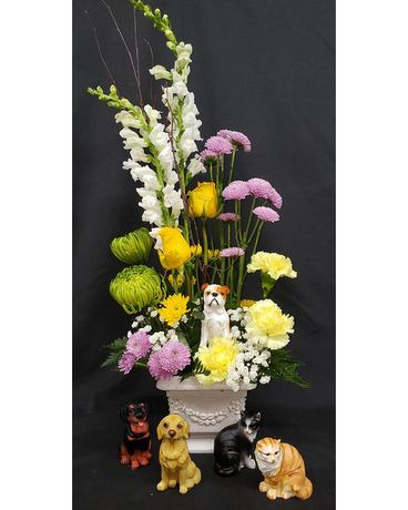 Pet Paws Flower Arrangement