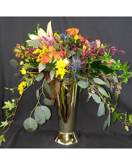 Seasonal Grande Vase Flower Arrangement