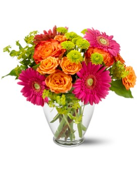 Teleflora's End of the Rainbow Flower Arrangement