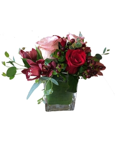 Queen of Hearts Flower Arrangement