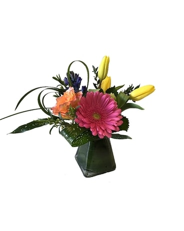 Spring Mist Flower Arrangement