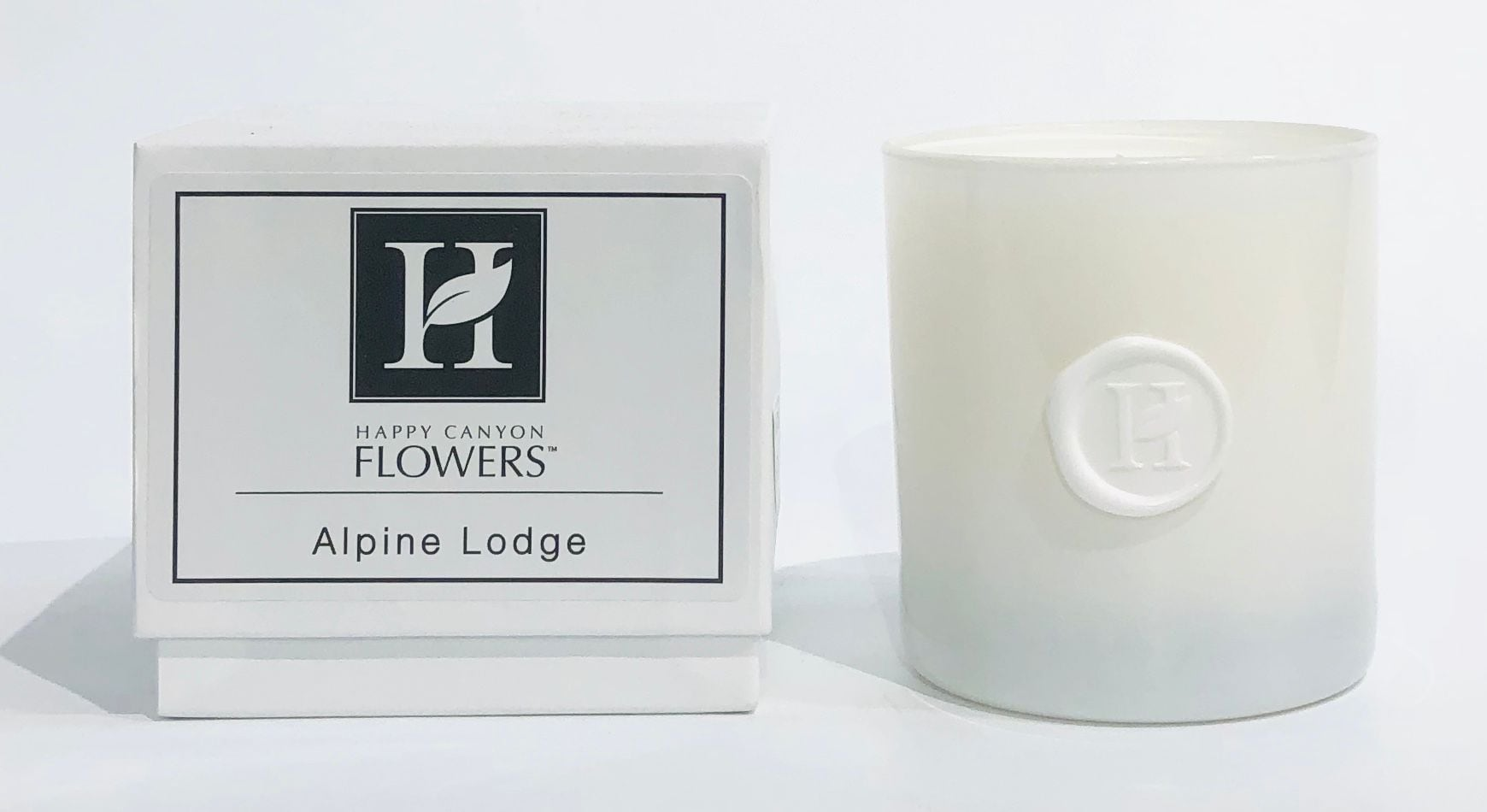 Happy Canyon Flowers Alpine Lodge Candle