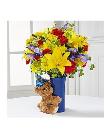 The FTD® Big Hug® Birthday Bouquet Flower Arrangement