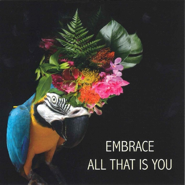 Positive Affirmation Card | Embrace All That is You