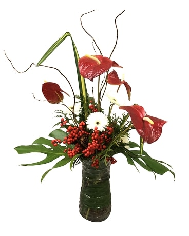 Tropical Holidays Flower Arrangement
