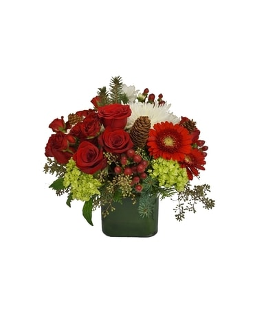 Seasonal Splendor Flower Arrangement