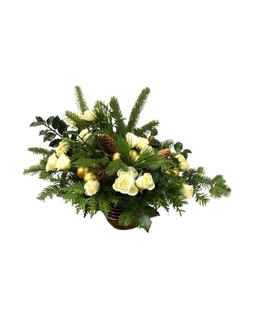 Winter Woods Flower Arrangement