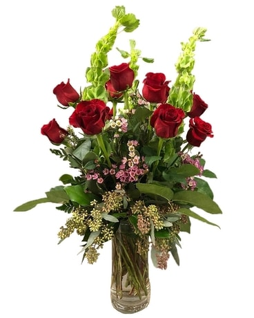 Kennedy's Collection Deluxe Dozen Roses Flower Arrangement