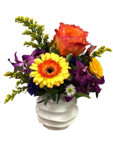 Magic Vase Flower Arrangement