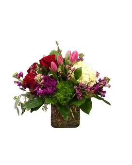 Romance in Bloom Flower Arrangement