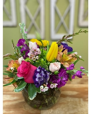 Splash of Color Flower Arrangement