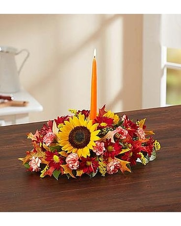 Fall Centerpiece Flower Arrangement
