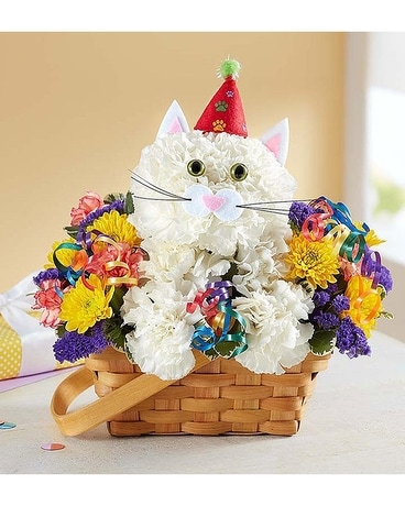 Happy Puurfect Party Flower Arrangement