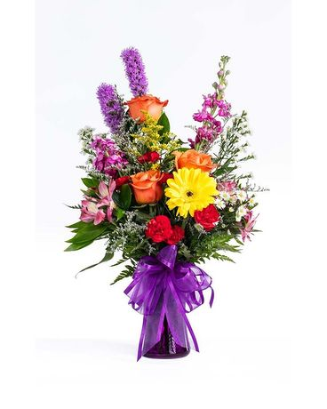 Vibrant Colors Flower Arrangement