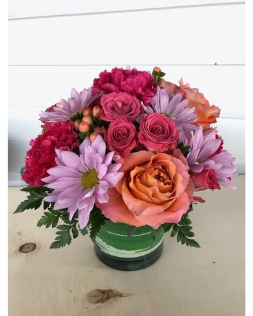 Crazy About You Flower Arrangement