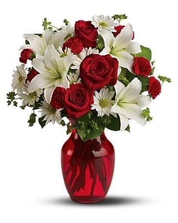 Be My Love Flower Arrangement