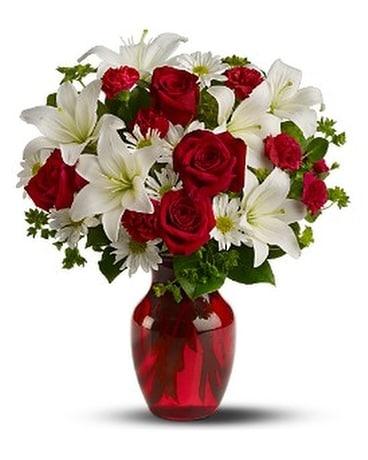 Be My Love - Deluxe Flower Arrangement