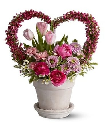 All My Heart Flower Arrangement