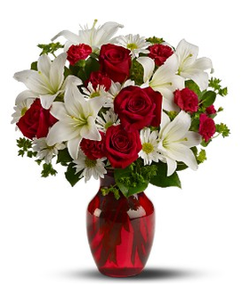 Be My Love - Deluxe Flower Arrangement