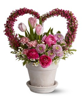 All My Heart Flower Arrangement