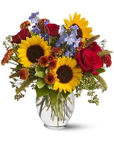 Sunny Skies Flower Arrangement