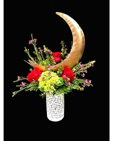 You are my Moonshine Flower Arrangement