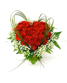 Heartfelt Flower Arrangement